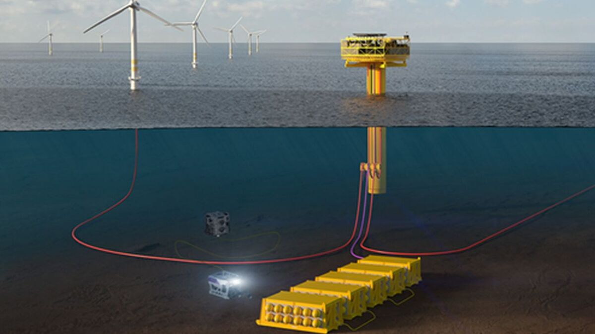 The aim of the Deep Purple project is to convert energy from offshore wind into green hydrogen