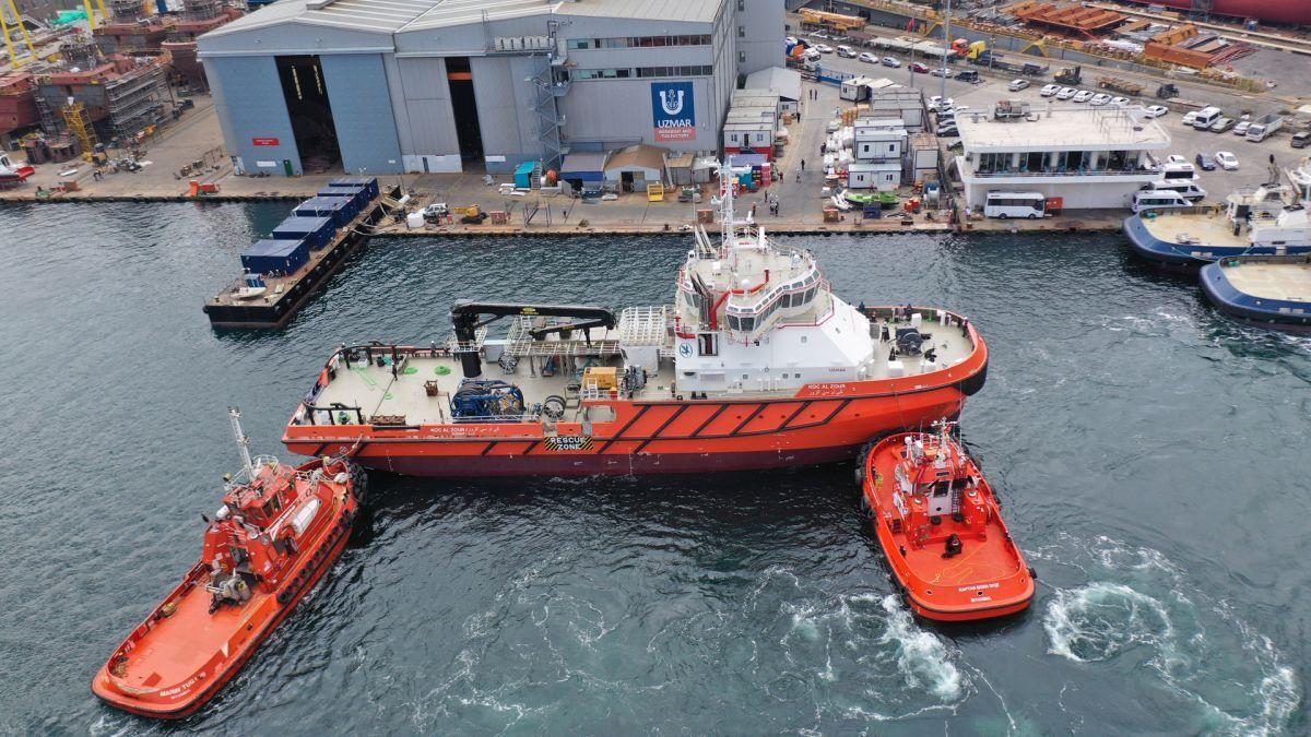 Uzmar built the Al Zour emergency response vessel with Yanmar main engines (source: Uzmar)