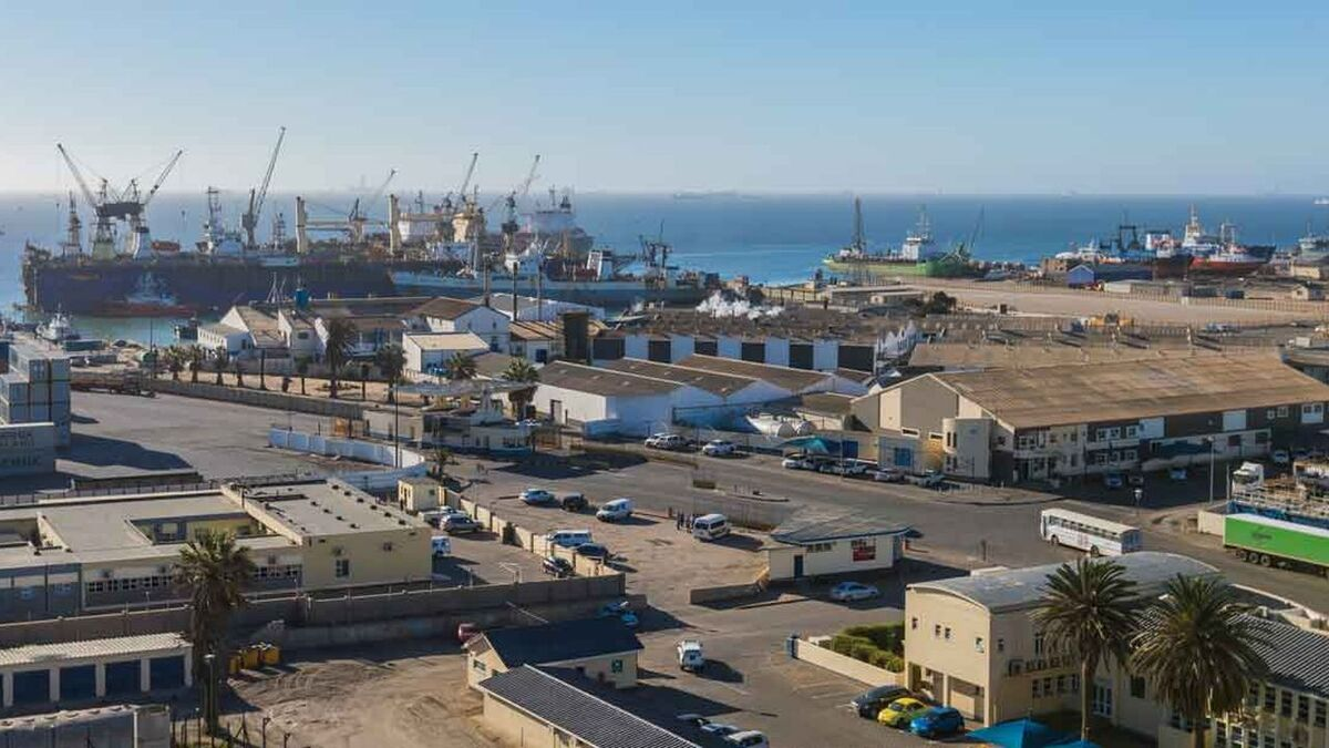 Walvis Bay, Namibia could become offshore supply hub (source: African Development Bank)