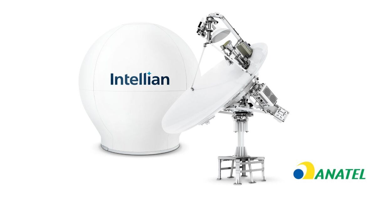 Anatel approved Intellian v240MT VSAT for offshore applications (source: Intellian)