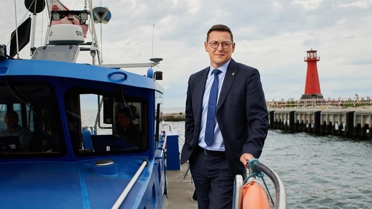 Port of Gdansk President Łukasz Greinke