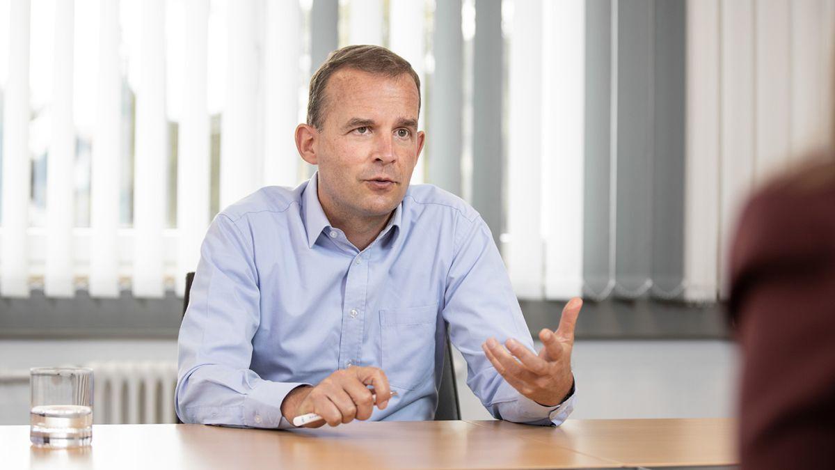 """Kjeld Jespersen (Liebherr): """"Digitalisation offers a whole array of new technologies"""" (source: Liebherr)"""