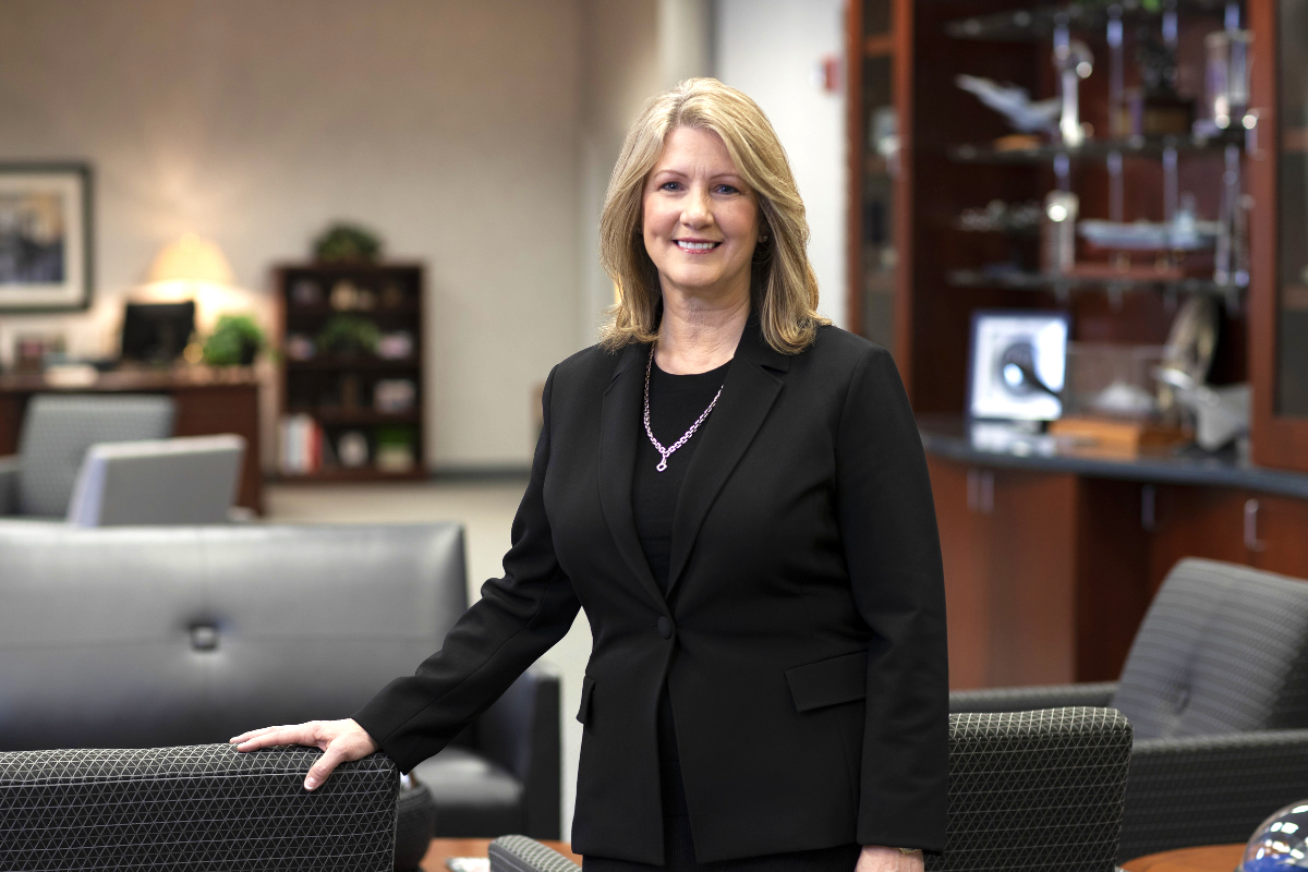 As aeronautics executive vice president, Michele Evans headed up some of Lockheed Martin's most high-profile projects (source: Lockheed Martin)