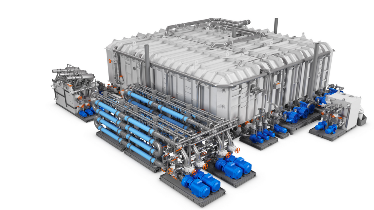 Wärtsilä membrane bioreactor surpasses the most demanding standards set by IMO for sewage discharge (Image: Wärtsilä)