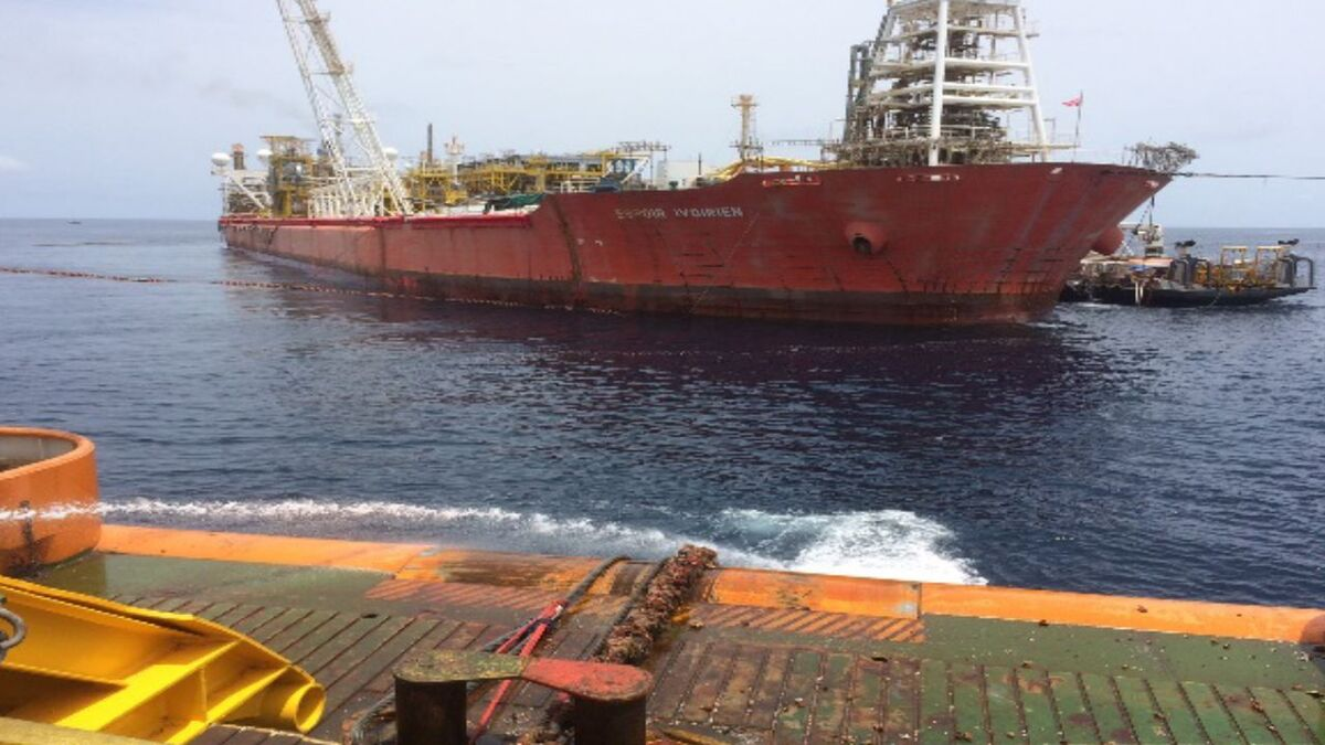 BW Offshore Espoir Ivoirien FPSO on CNR field in Ivory Coast (source: Sealand)