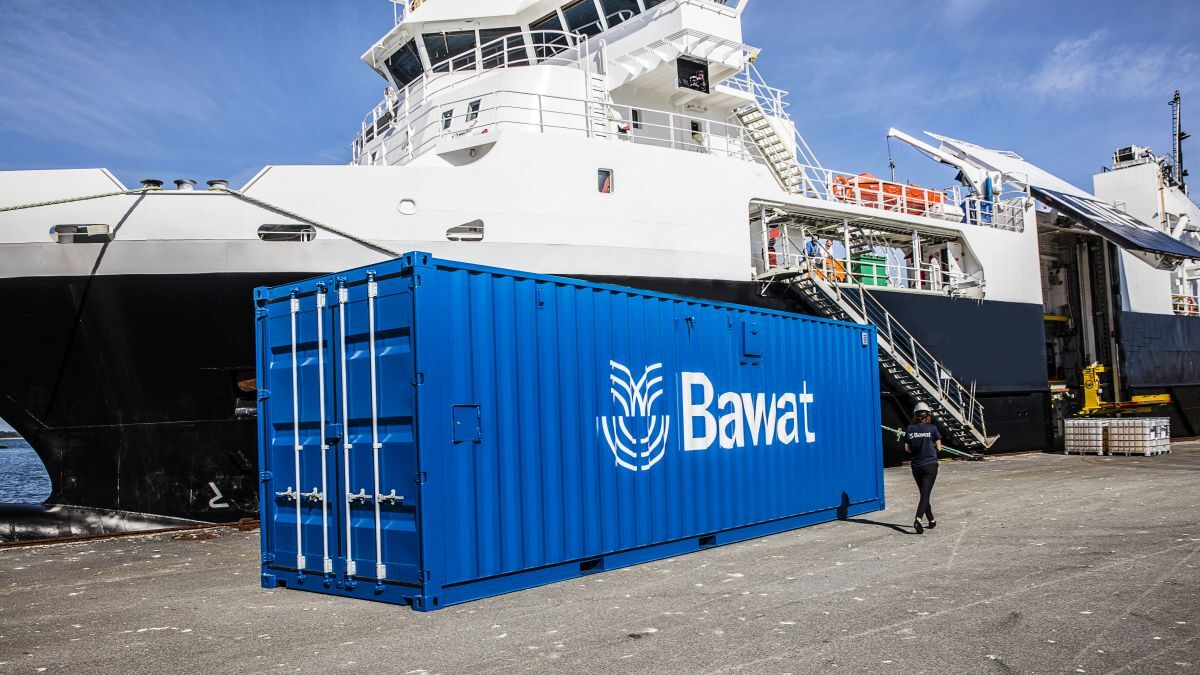 Herbosch-Kiere vessels and barges will be served by the onshore containerised BWMS (source: Bawat)