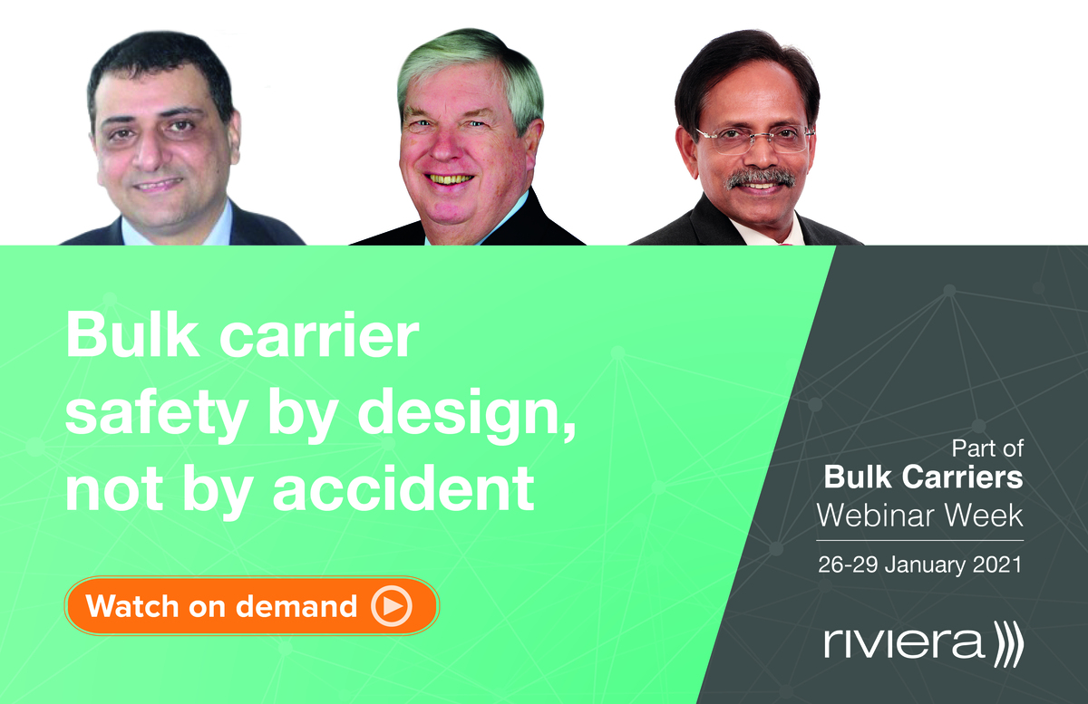 Bulk carrier safety by design, not by accident webinar panel