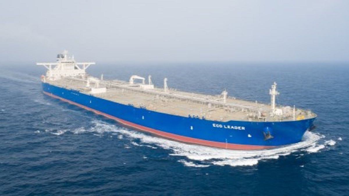Eco Leader is a sister to the two VLCCs acquired by DHT (source: Awilco Eco Tankers)