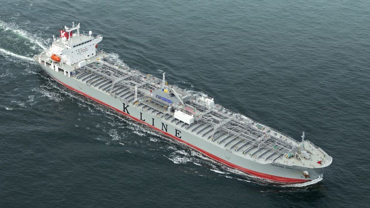 K Line will use data analytics to optimise tanker routes to reduce fuel (source: K Line)