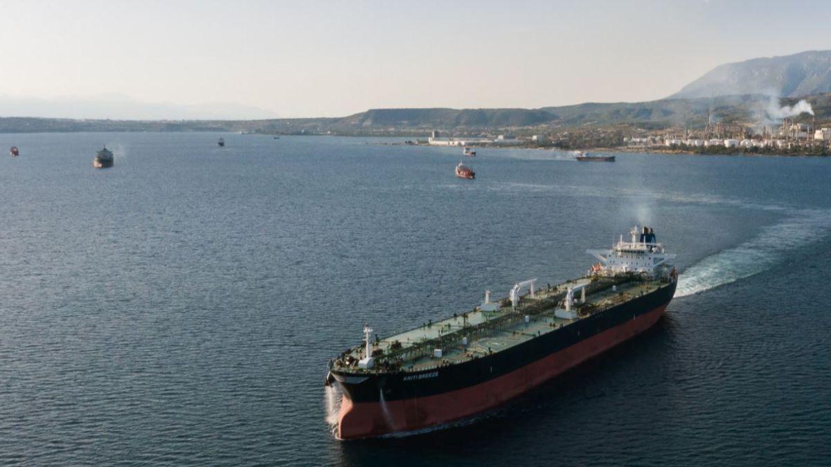 Kriti Breeze, a 2003-built Suezmax tanker from the Avin International fleet (source: Avin)