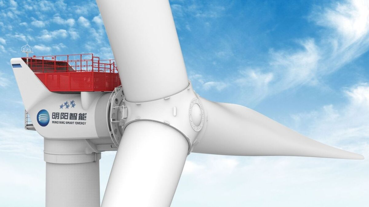 Chinese turbine selected for first Italian offshore wind project