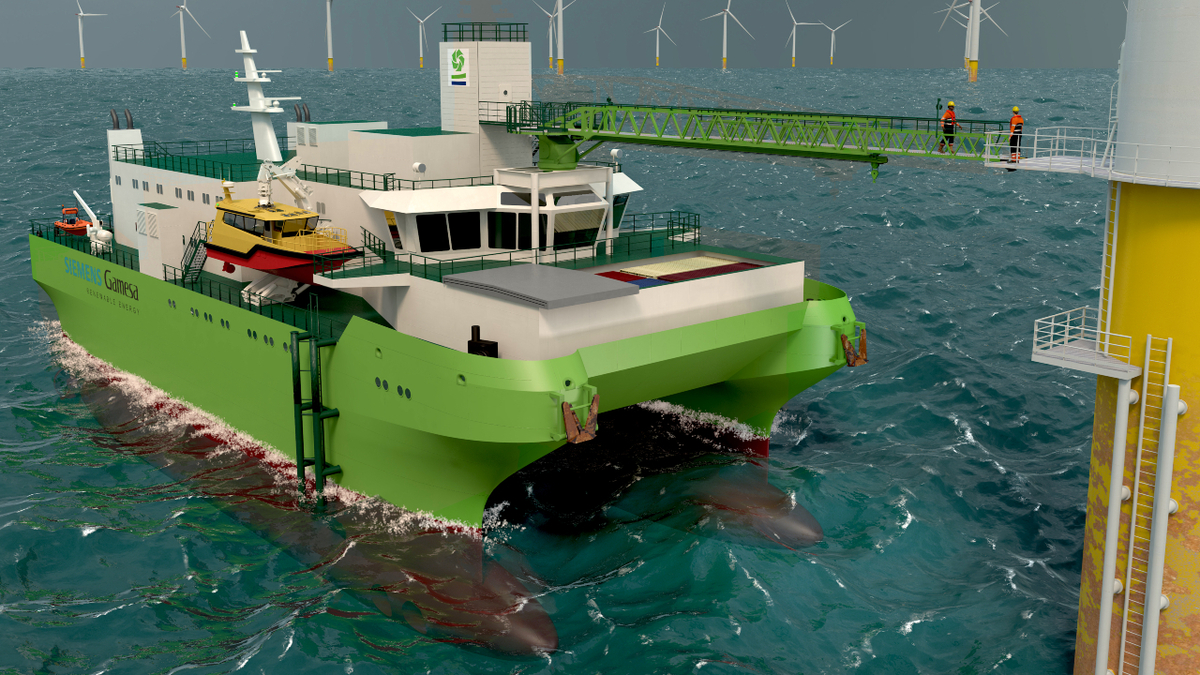 Groenewind, first SWATH SOV, being built by Cemre Shipyard for delivery in 2021