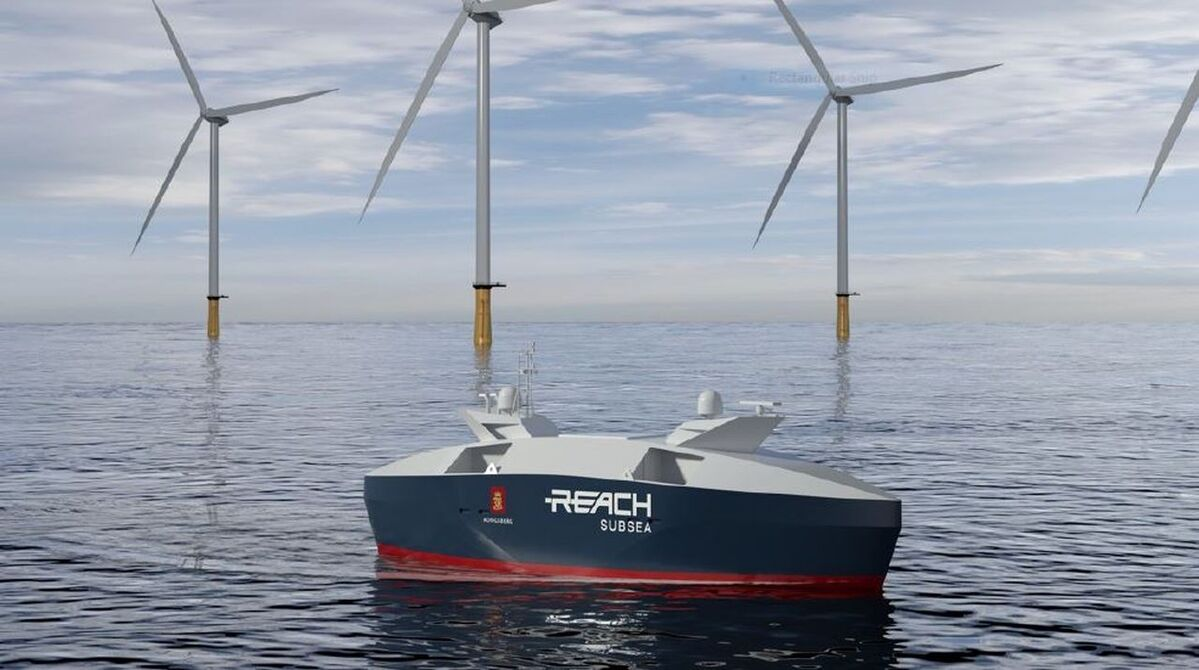 Reach Subsea USVs will be approximately 25 m in length with a hybrid electric propulsion configuration