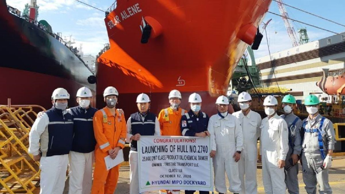 ESHIPS takes delivery of last Solar-series tanker for Shell charter