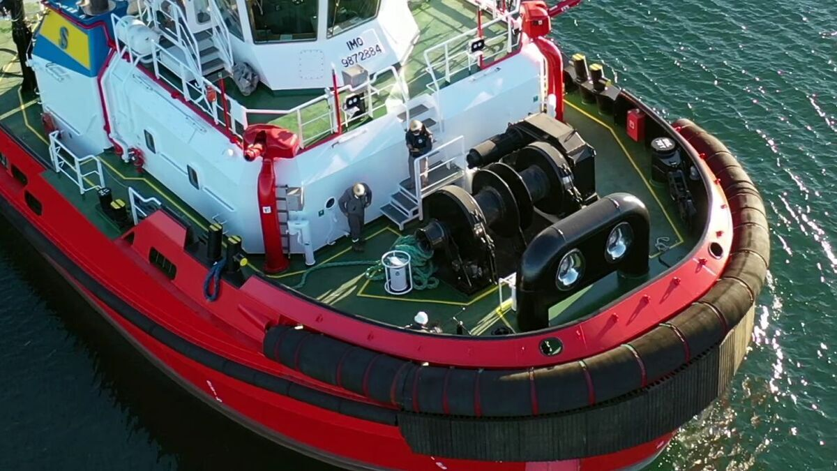 Med Marine built Gordo for Somat to support shipping in Sicilian ports (source: Med Marine)
