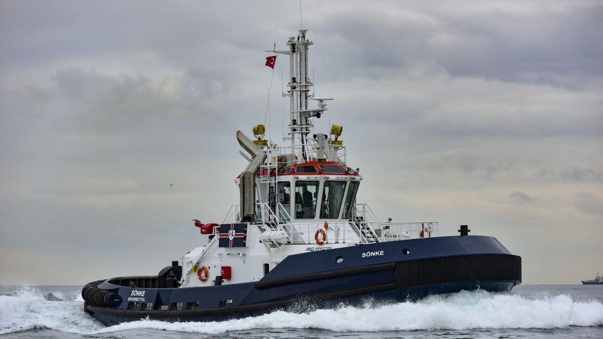 Sanmar-built Hans Schram operated Sonke as a Deliçay-series tug (source: Sanmar)
