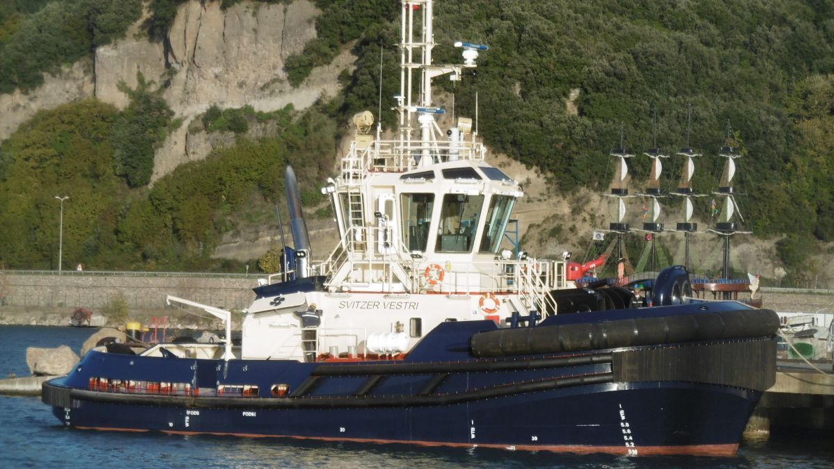 Med Marine-built Svitzer Vestri ASD tug based in Emden, Germany (source: Med Marine)