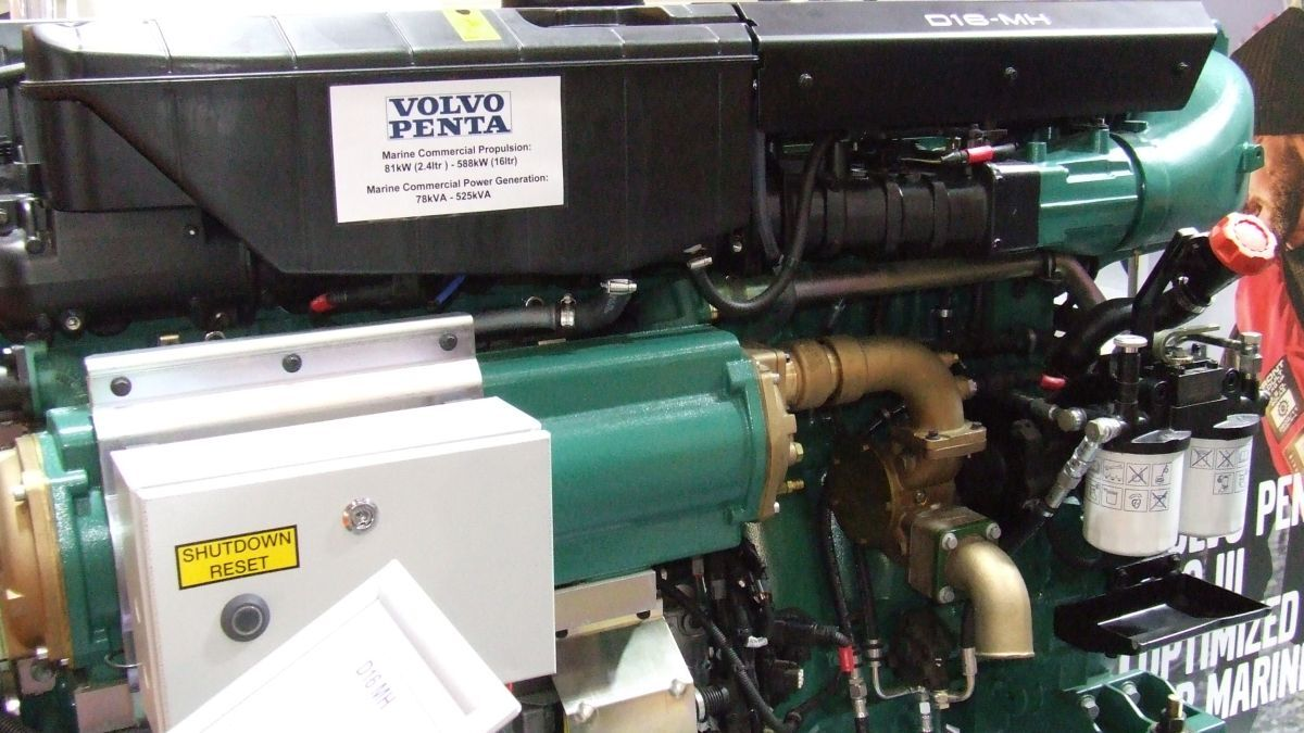 Volvo Penta D16 engine has increased power up to 635 kW