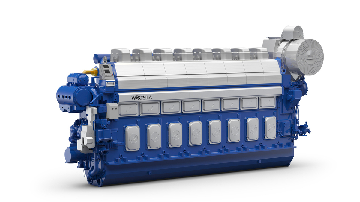 The order, valued at more than US$121M, was placed in December 2020 by DSME (© Wärtsilä Corporation)