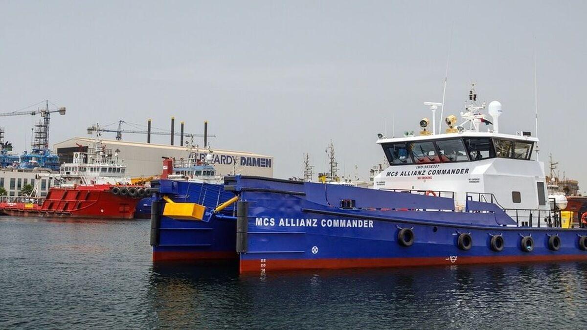 Albwardy Damen builds fast crew supply vessels for Allianz (source: Damen)