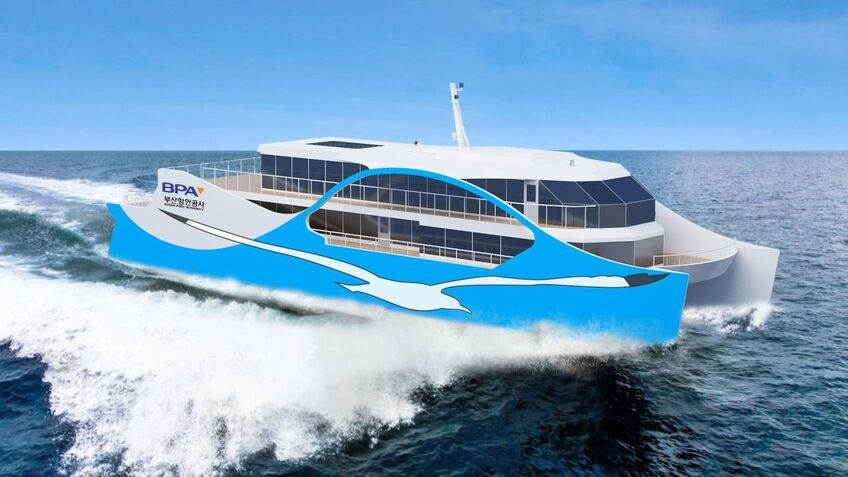 South Korea builds first of 140 all-electric ferries