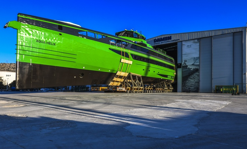 Damen launches first new-design fast crew supplier