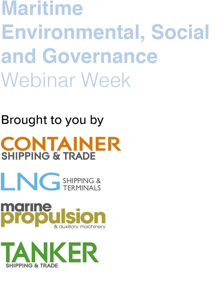 Maritime Environmental, Social and Governance Webinar Week