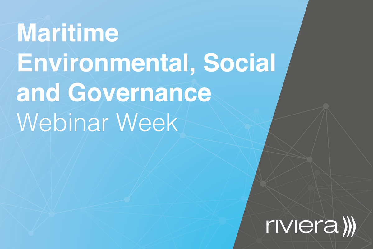 Maritime Environmental, Social and Governance Webinar Week