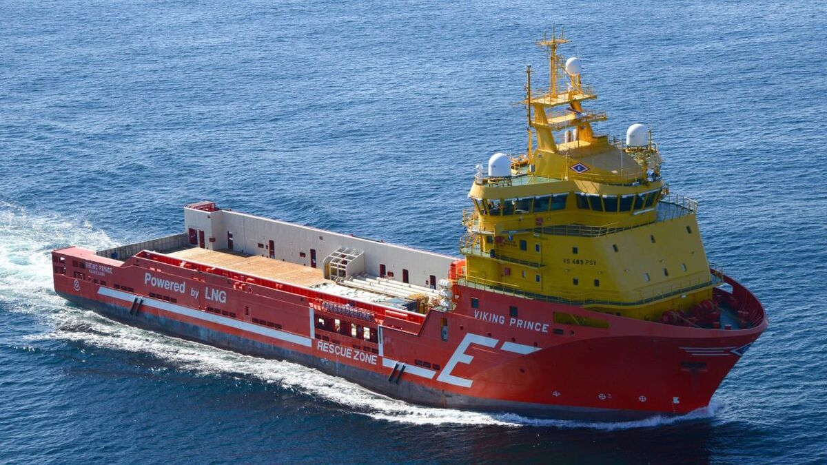 Eidesvik PSV Viking Prince will supply an Aker BP drilling campaign in 2021 (source: Eidesvik)