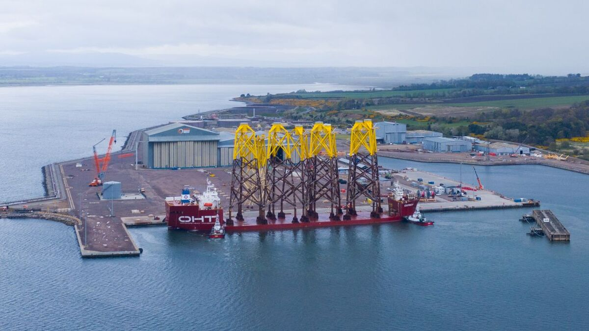 In addition to its new partnership with Rosetti Marino, Global Energy Group has secured funds to develop Port of Nigg as a renewables hub