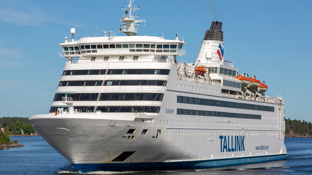 Using voyage optimisation software allows Isabelle to minimise fuel consumption and arrive just in time (source: Tallink Grupp/Marko Stampehl)
