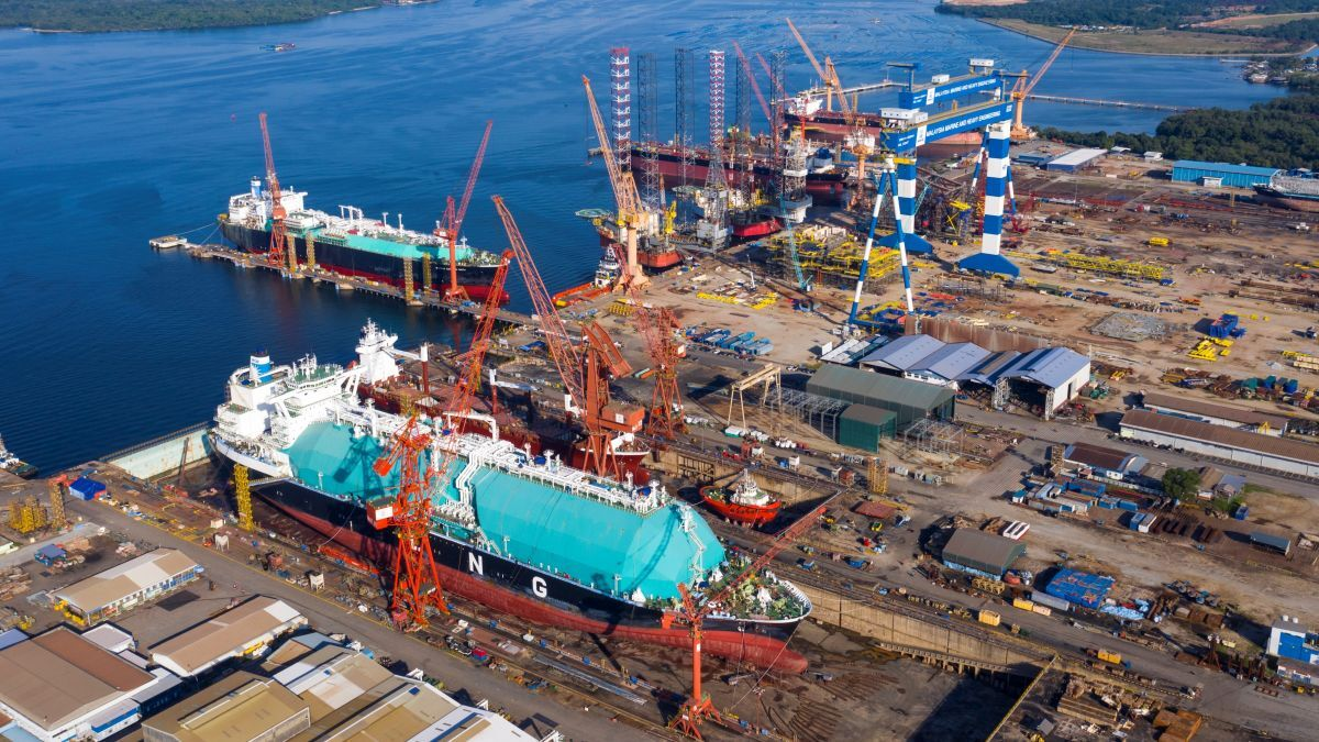With enhanced drydock capacity, Malaysian shipyard anticipates repair rebound