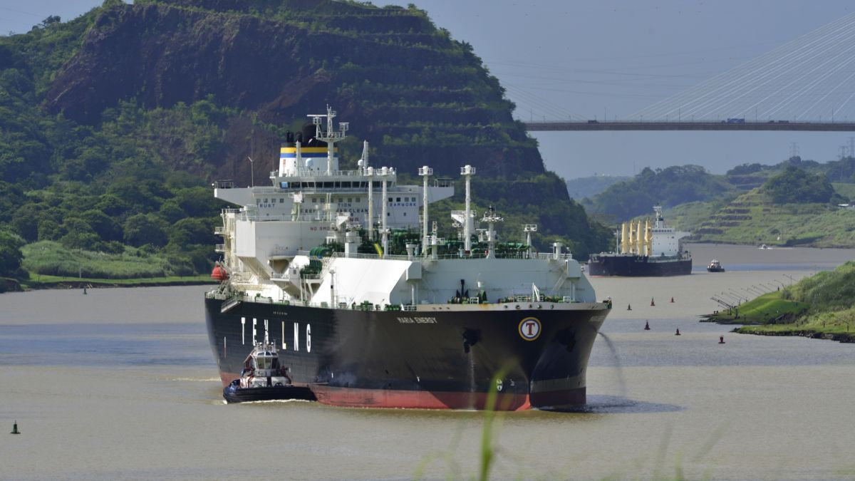 LNG shipping represents about 12% of the traffic transiting the expanded canal (source: Panama Canal Authority)