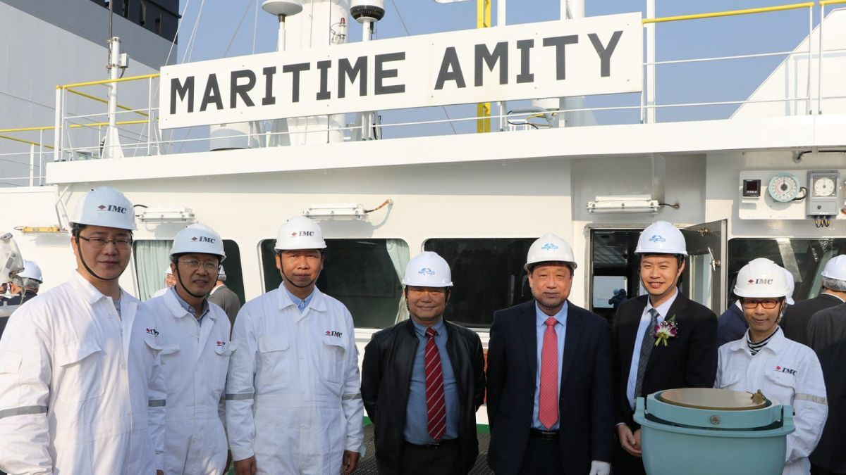 The launch of Maritime Amity and signing the Neptune Declaration on crew welfare (source: IMC)