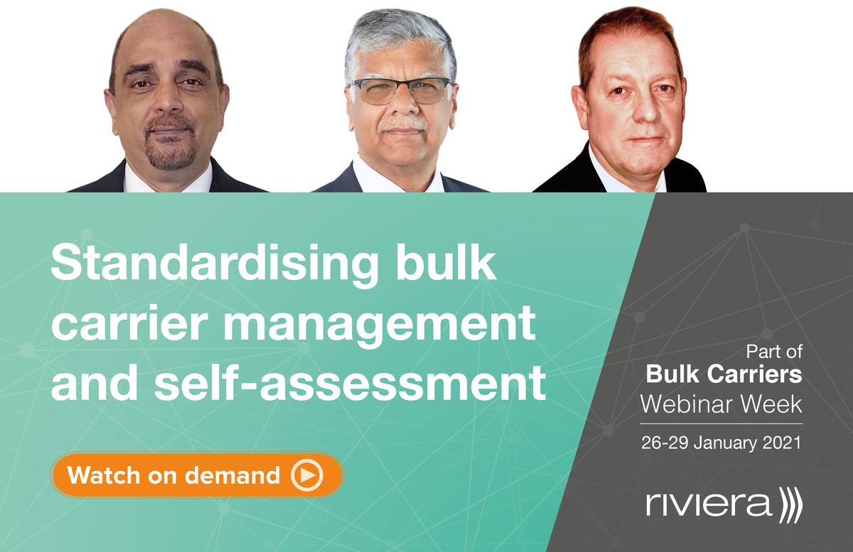 The Standardising bulk carrier management and self-assessment panel