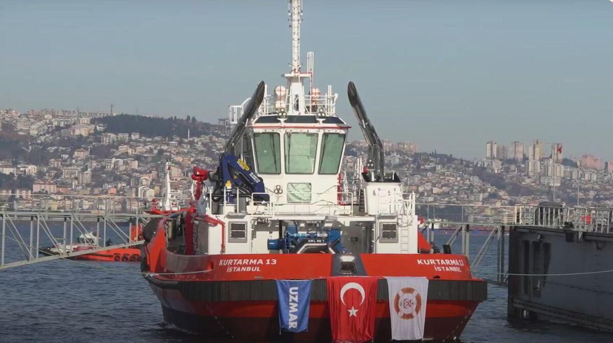 Uzmar launches Kurtarma 13 escort and emergency response tug (source: Uzmar)
