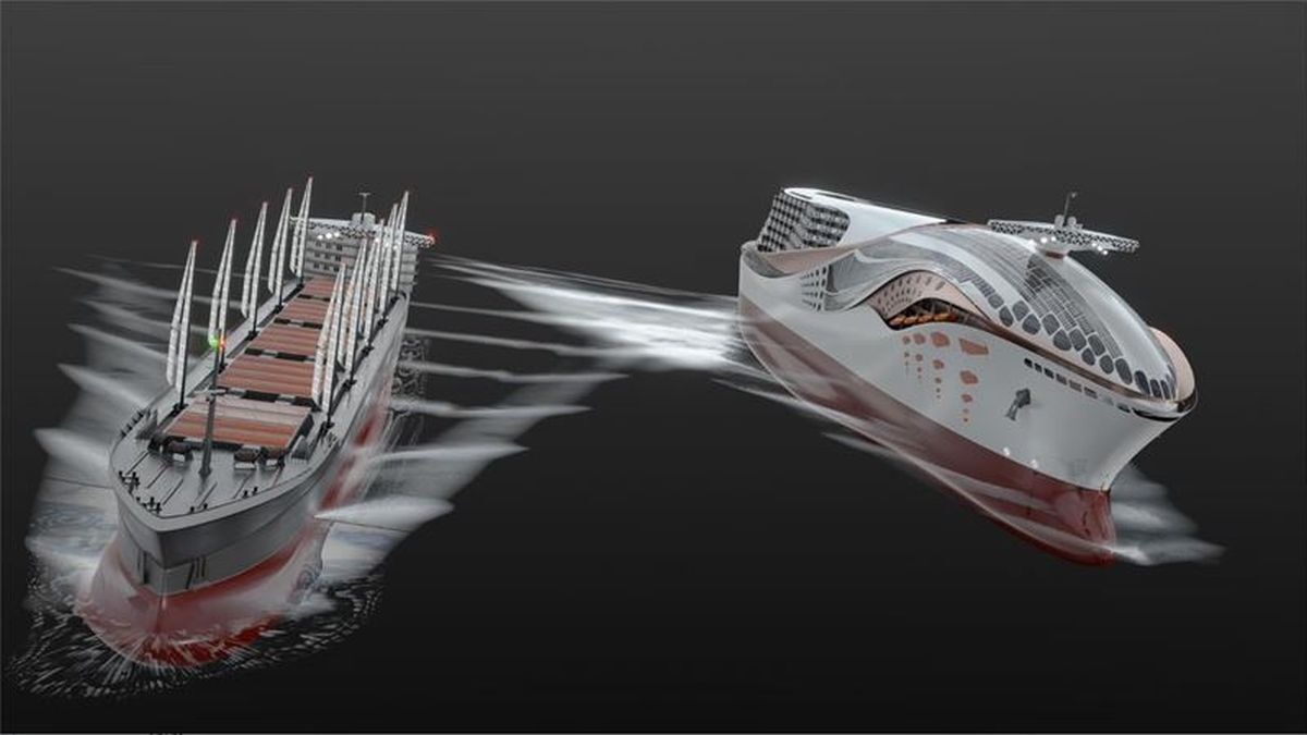 The two concept vessels to be designed as part of the CHEK project will feature a Wärtsilä engine running on hydrogen fuel and Wärtsilä system integration solutions. (Image: courtesy of and © Wärtsilä Corporation)