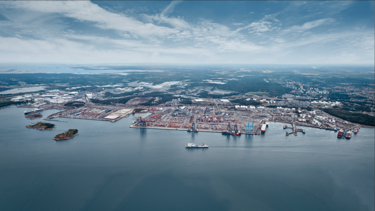 Port of Gothenburg grew container volumes despite pandemic
