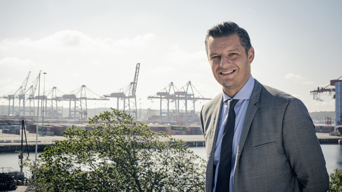 Gothernburg Port Authority's CEO Elvir Dzanic (Image: Creative Commons)