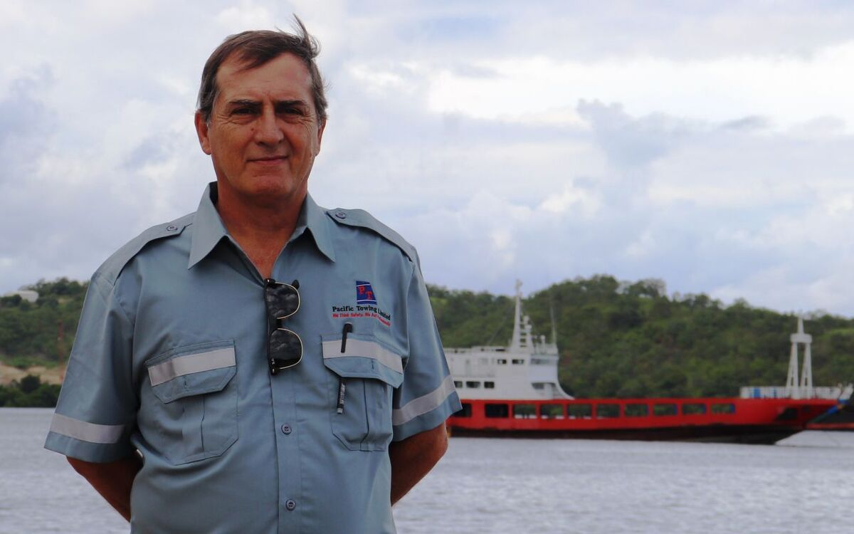 Capt Marcelo Santini is the new international operations manager Pacific Towing (source: PacTow)