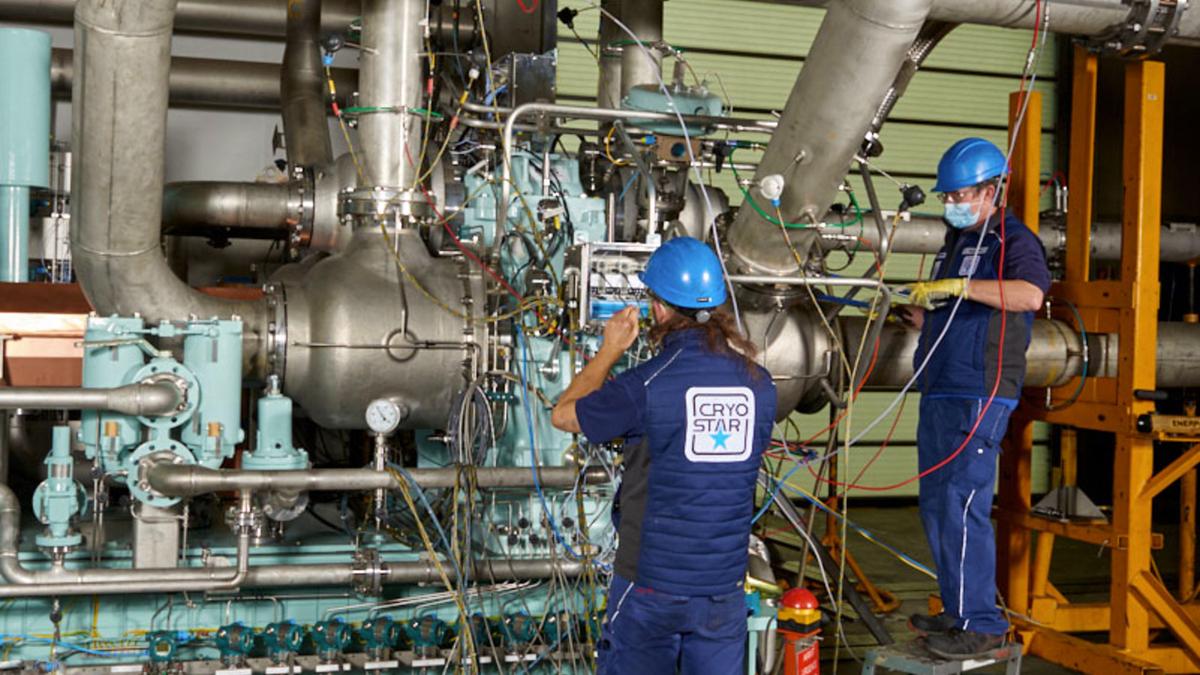 Popularity of X-DF propulsion propels BOG compressor milestone
