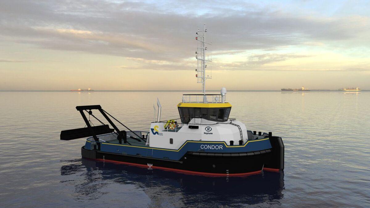 EuroTractorTug 2410 design Condor for Verbeke-Shipping (source: Neptune)