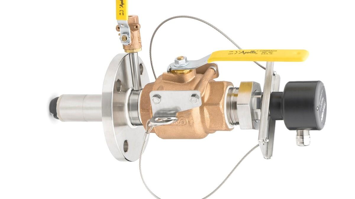 Halogen Systems Inc Amperometric DPI (direct pipe insertion) TRO (total residual oxidant) sensor