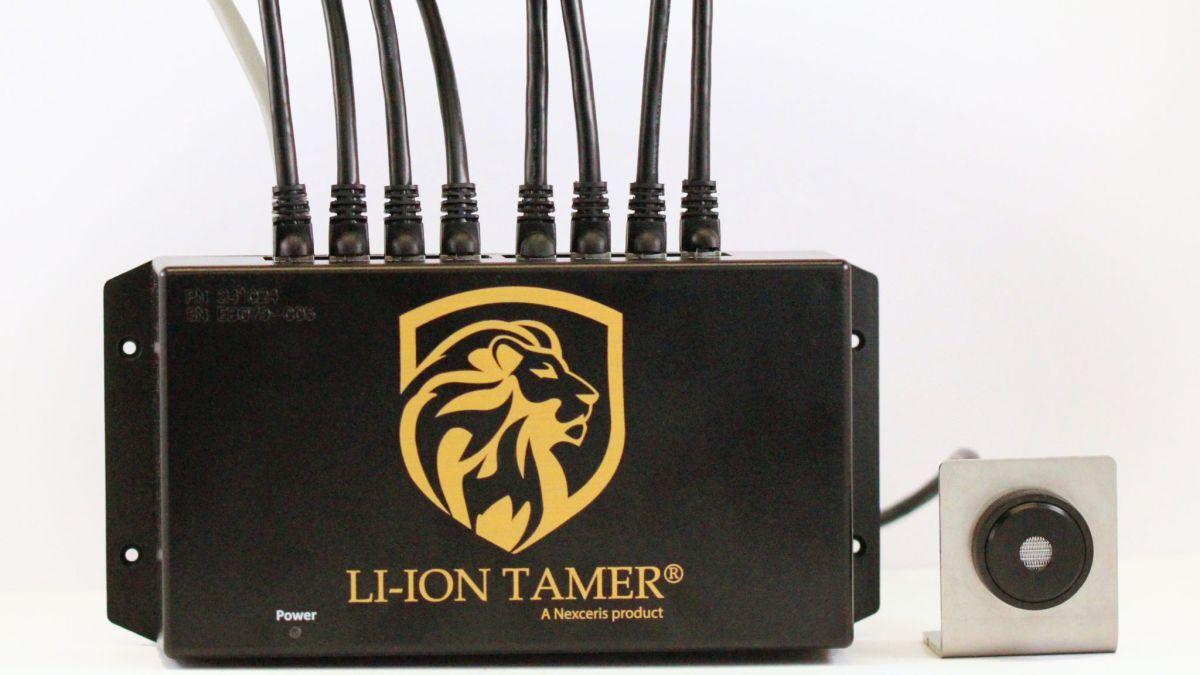 Lithium-ion battery gas detector: Li-ion Tamer (source: Nexceris)