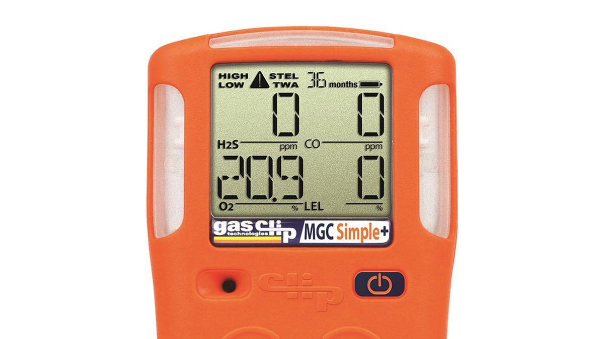 Martek Marine's clip-on gas detector: MGC Simple (source: Martek Marine)