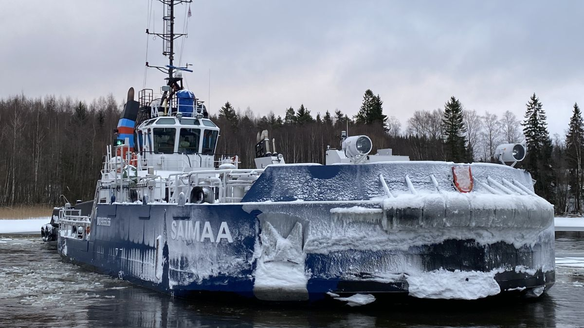 Finland steams ahead with icebreaking innovations