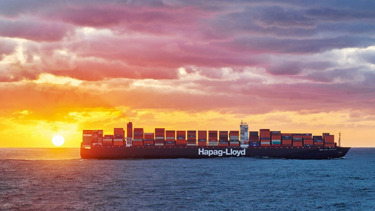 Freight rates continue to rise (Image: Hapag Lloyd)