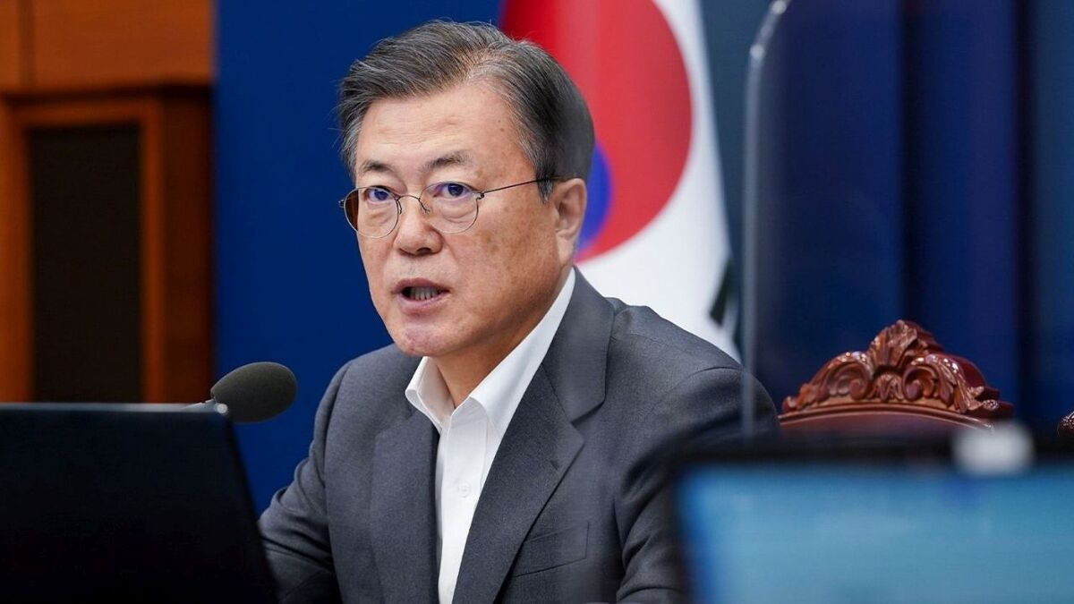 Moon vows support for massive floating windfarm in South Korea