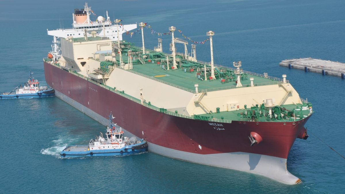 The Q-Max LNG carrier Mozah is Nakilat's flagship vessel (source: Nakilat)