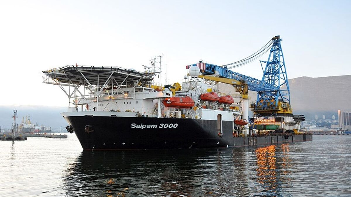 Saipem 3000 is to install 64 monopile foundations for the Courseulles-sur-Mer windfarm